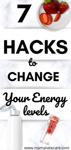 7 Hacks to Change Your Energy Levels - Are you ready to have more energy? Use these energy tips to have more energy and feel alive!